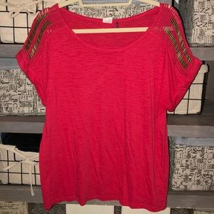 Red Anthro Tee